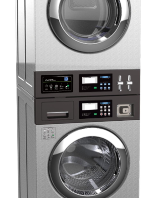 9 Stacked Washer Dryer